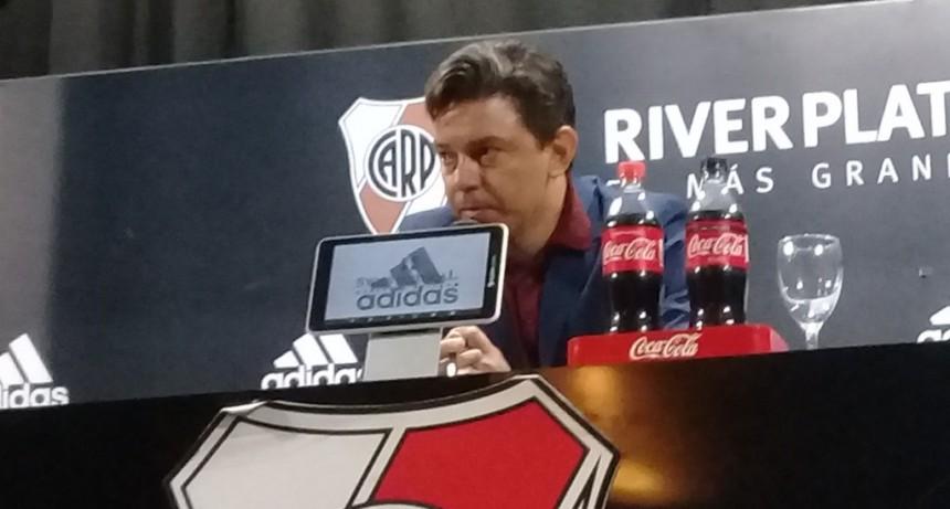 Marcelo Gallardo: a los hinchas de River les robaron una posibilidad única