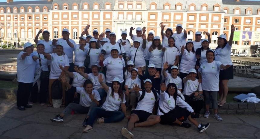 Jubilados de la ciudad viajaron gratis a Mar de Plata