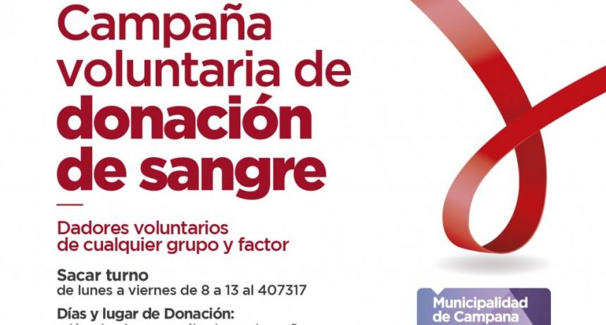 Hospital San José: también se podrá donar sangre los sábados