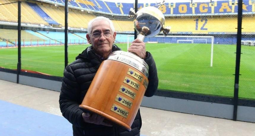 Francisco Sá: el ex jugador argentino que màs veces levantó la Copa Libertadores de Amèrica