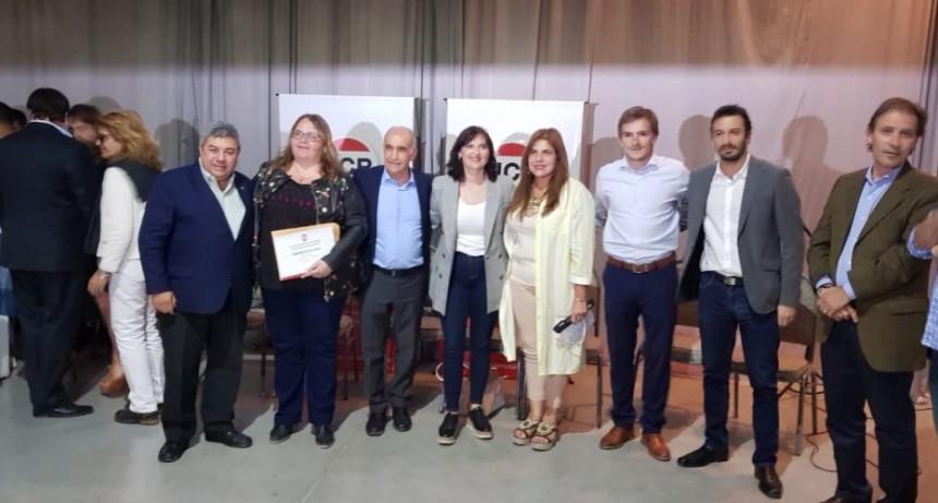 Buzzini participó de la asunción de autoridades radicales de la primera sección electoral