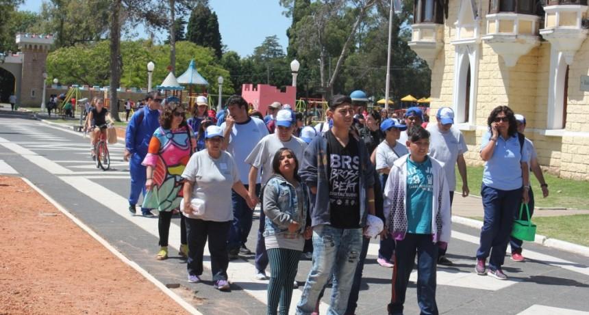 Chicos y jóvenes participaron de una jornada inclusiva en República de los Niños