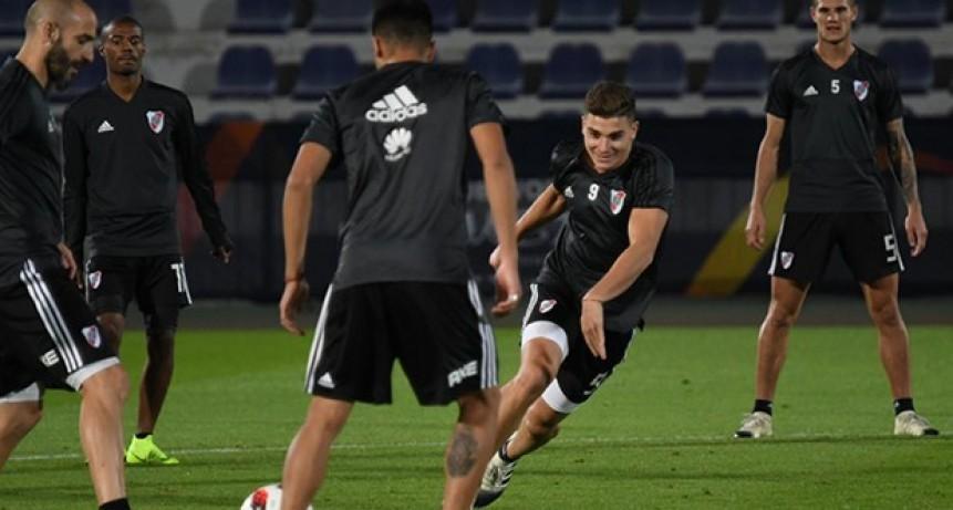 El campeón de América River Plate se entrenó en Al Ain Training Center