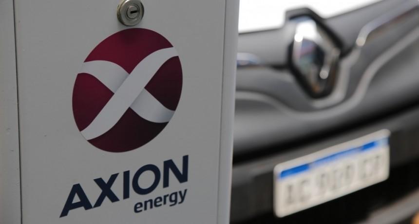 AXION energy comenzó a ofrecer energía  para la carga de automóviles eléctricos