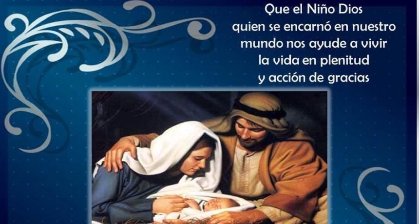 El saludo en esta Navidad del Obispo Monseñor Pedro Laxagüe
