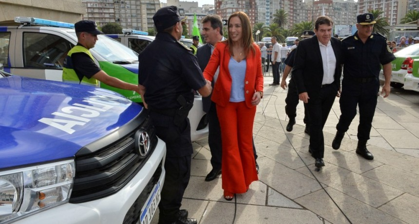 """MARÍA EUGENIA VIDAL LANZÓ EL """"OPERATIVO SOL"""", CON 13 MIL POLICÍAS """"PARA QUE TODOS ESTÉN TRANQUILOS ESTAS VACACIONES"""""""