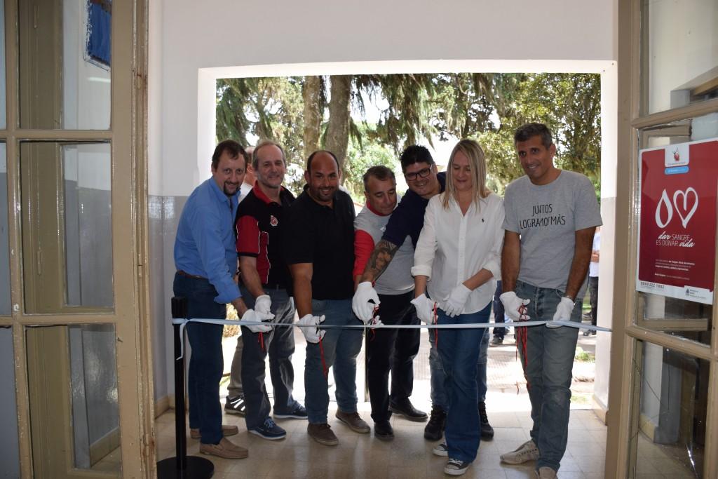 Voluntariado y mejora de la eficiencia para el Hospital Municipal de Baradero
