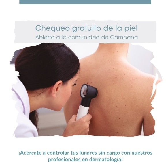 Swiss Medical realizó chequeos gratuitos de la piel en su sede de Campana