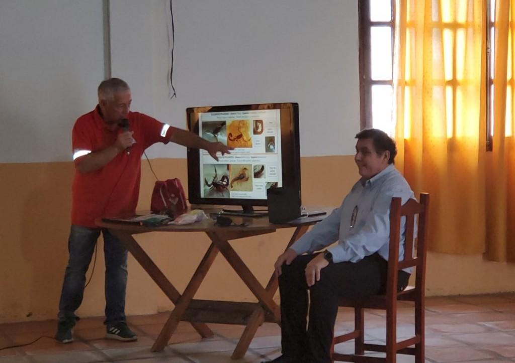 Defensa Civil Campana dictó un curso teórico de RCP y primeros auxilios