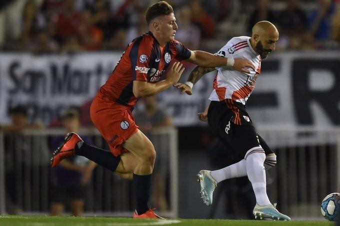 River Plate perdió con San Lorenzo de Almagro por 1 a 0
