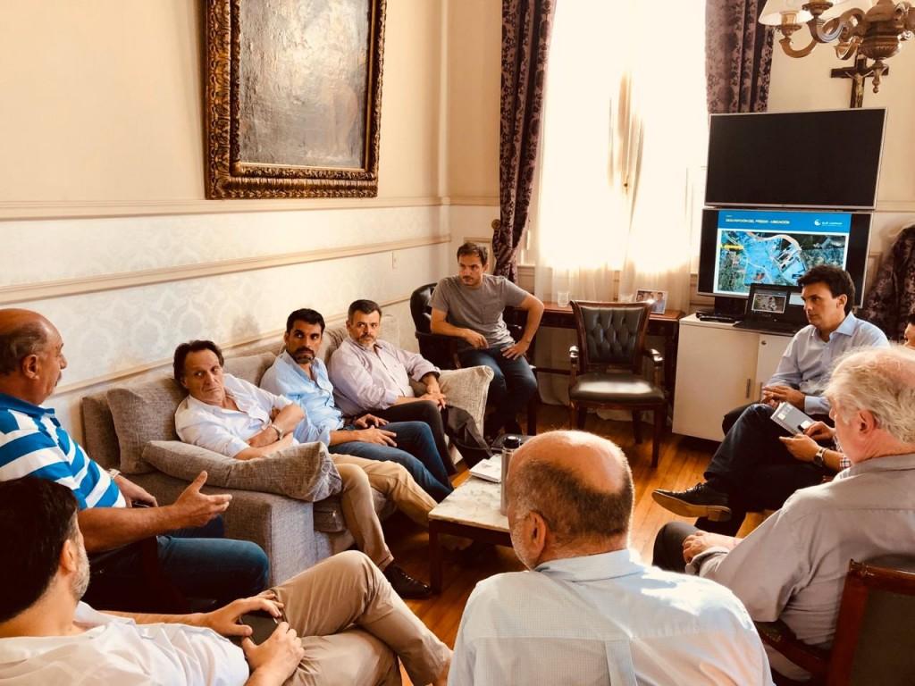 El Intendente se reunió con representantes de la UIC y del proyecto Tajiber