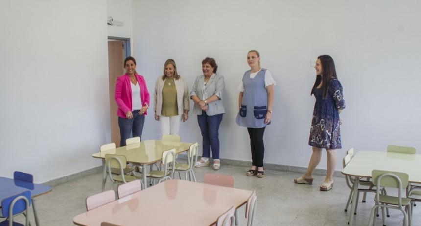 Santa Florentina: inauguran obras de ampliación en el jardín de infantes Nº 923
