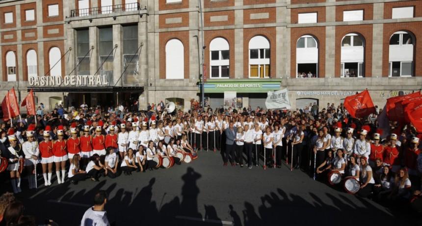 Comenzaron los festejos por el 50º aniversario de la Guardia Nacional del Mar
