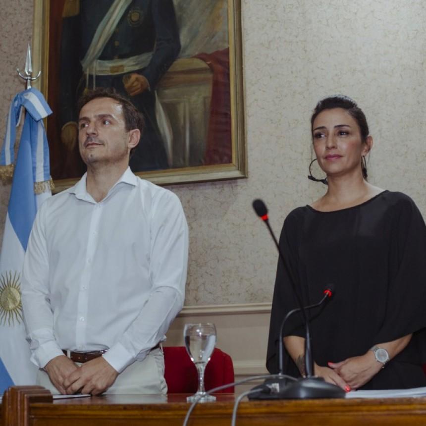 """Abella asumió su segundo mandato y aseguró que """"seguirá transformando la ciudad"""""""