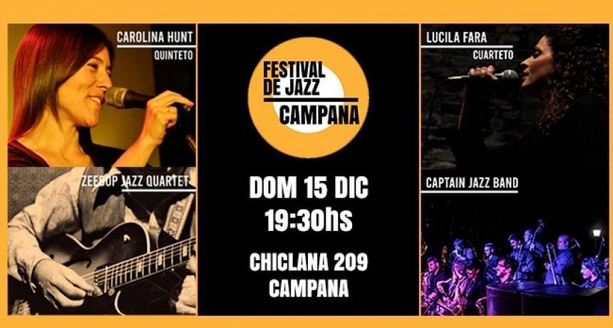 Se viene el Festival de Jazz en el Club Ciudad de Campana