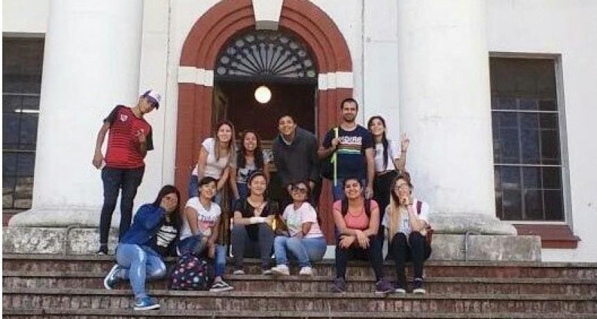 Alumnos de la Escuela Secundaria Nº 13 visitaron el Espacio Memoria y Derechos Humanos