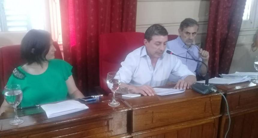 Se realizó la sesión de prórroga del Honorable Concejo Deliberante