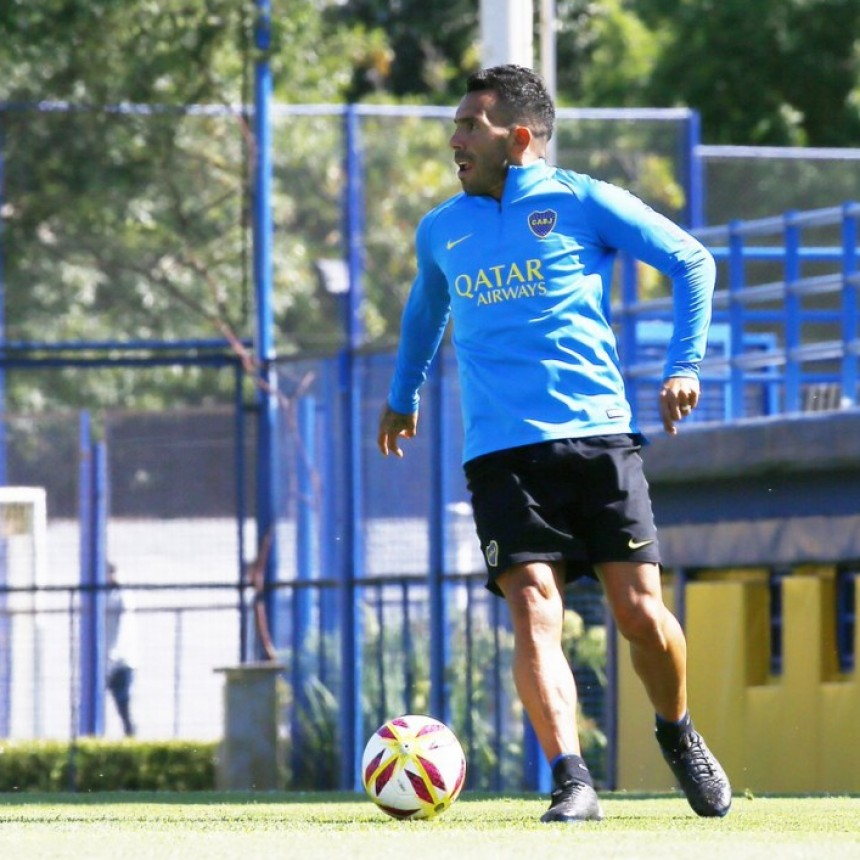 Tevez cerca de lograr el acuerdo para continuar en Boca Juniors