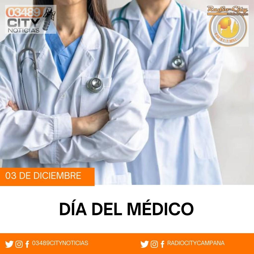 3 DE DICIEMBRE DIA DEL MEDICO