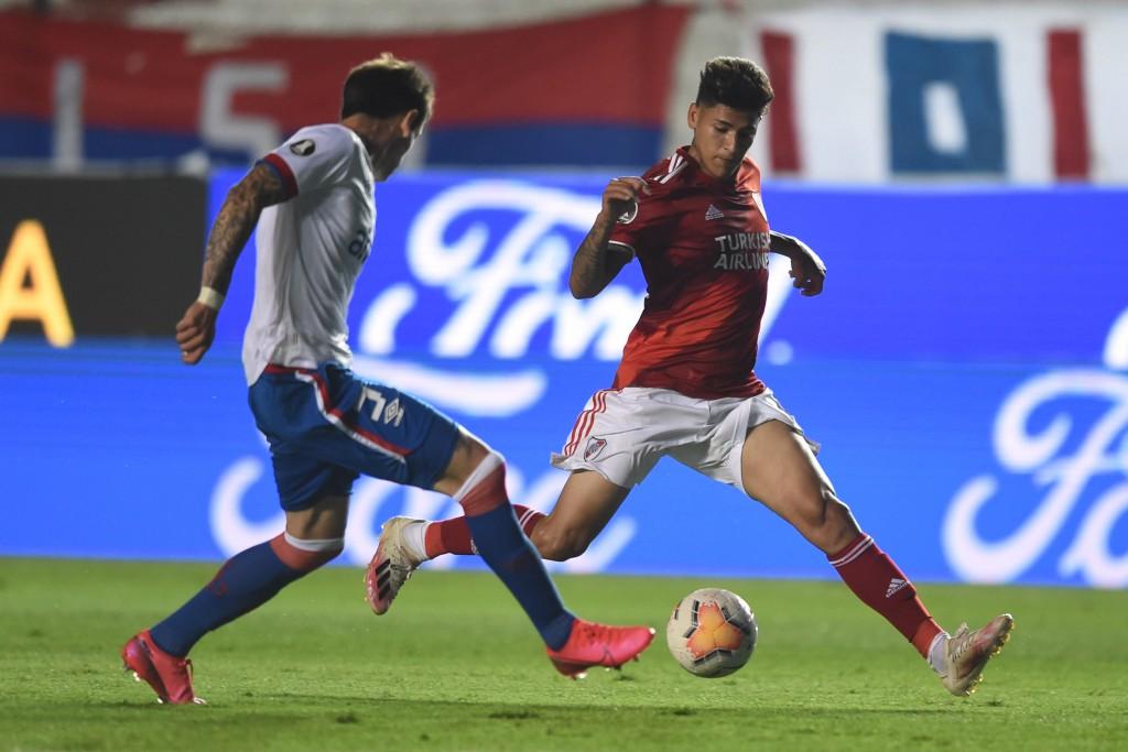 River Plate venció a Nacional de Uruguay por 6 a 2