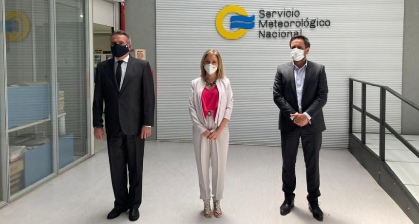 El Servicio Meteorológico Nacional presentó el nuevo Sistema de Alerta Temprana