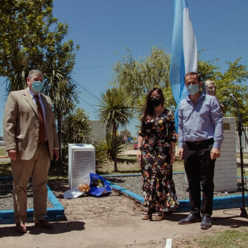 Abella recibió al embajador de Uruguay