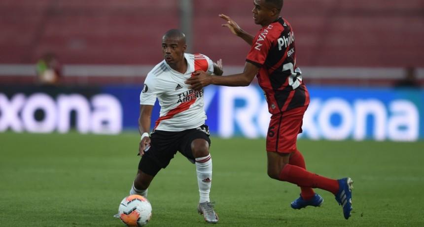 River Plate venció a Athletico Paranaense y clasificó a cuartos de final